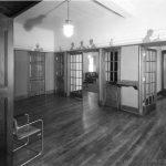 Entry area of Illini Hall circa 1935.