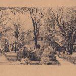 Original rendering of Altgeld Hall