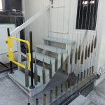 Rails added to automatic chimes mechanism shed