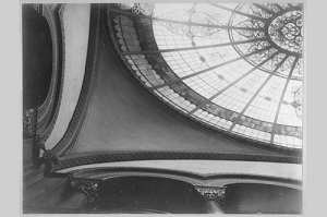 A historical image of the glass dome