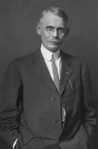 "Former Dean of Men Thomas Arkle Clark insisted on a configuration of bells that could play ""Illinois Loyalty."" He also helped find the money for it. (University of Illinois Archives.)"